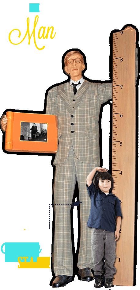 Amsterdam Ripley's Believe It or Not Tallest Man