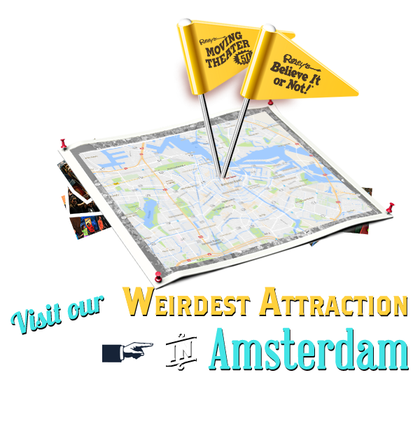 Attractions in Amsterdam, Netherlands