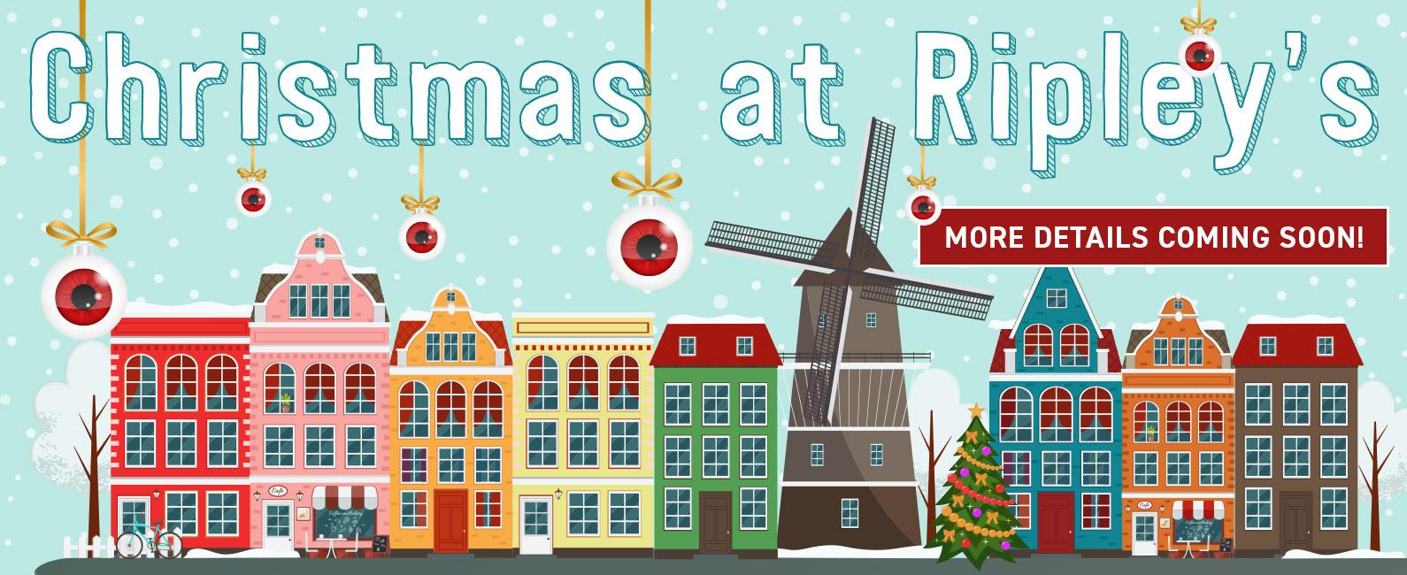 Christmas at Ripley's