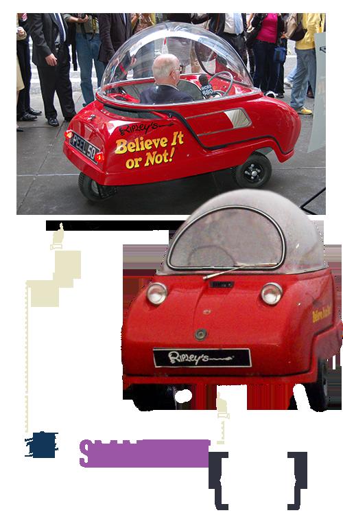Atlantic City Ripley's Smallest Car