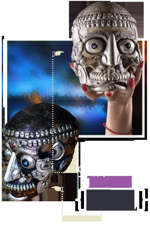 Atlantic City Ripley's Tibetan Skull