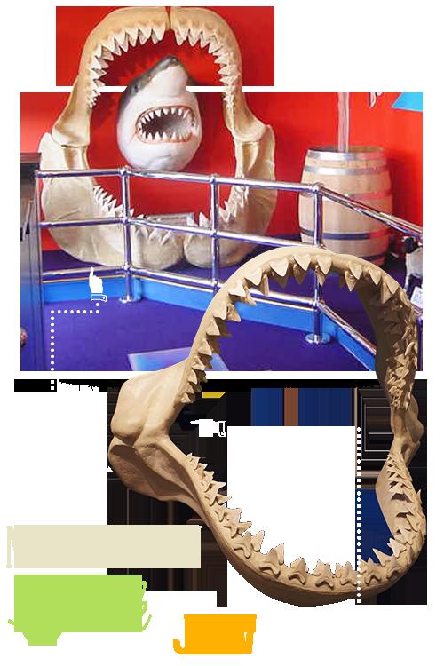 Blackpool Ripley's Shark Jaw