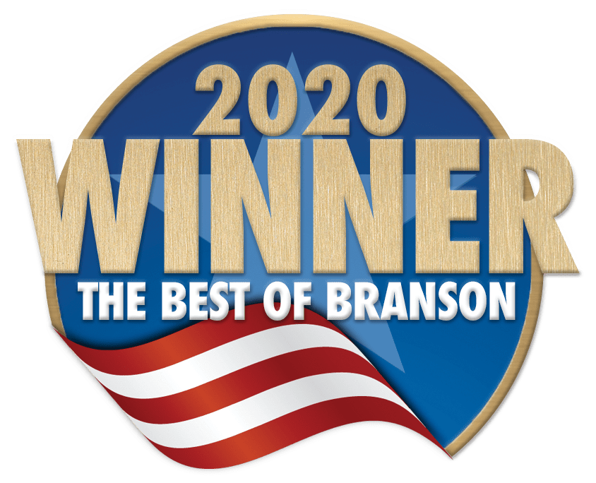 Voted Best of Branson - 2020