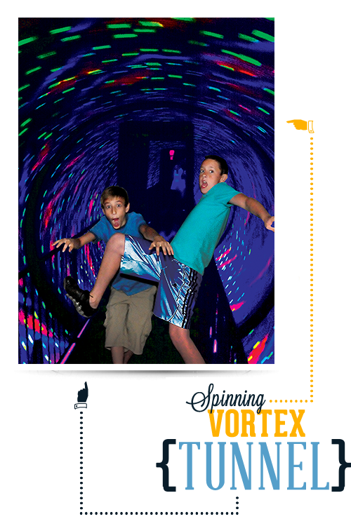 Branson Ripley's Believe It or Not Vortex Tunnel