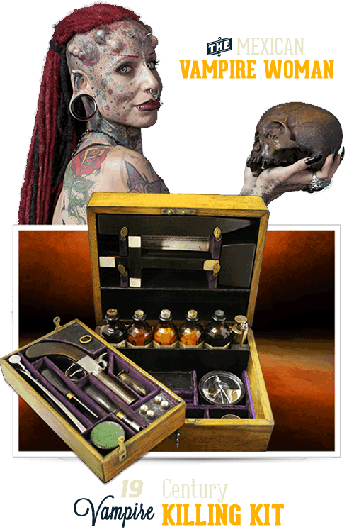 Branson Ripley's Believe It or Not Vampire Women and Vampire Killing Kit