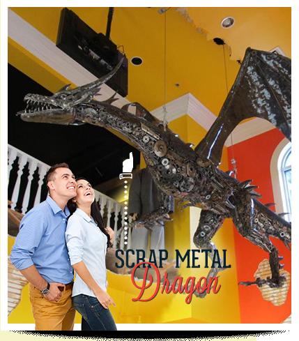 Branson Ripley's Believe It or Not Scrap Metal Dragon