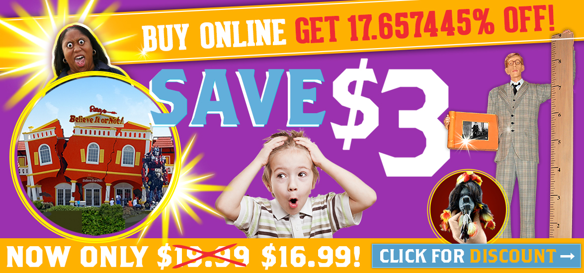 Ripleys Branson Discount Tickets Online