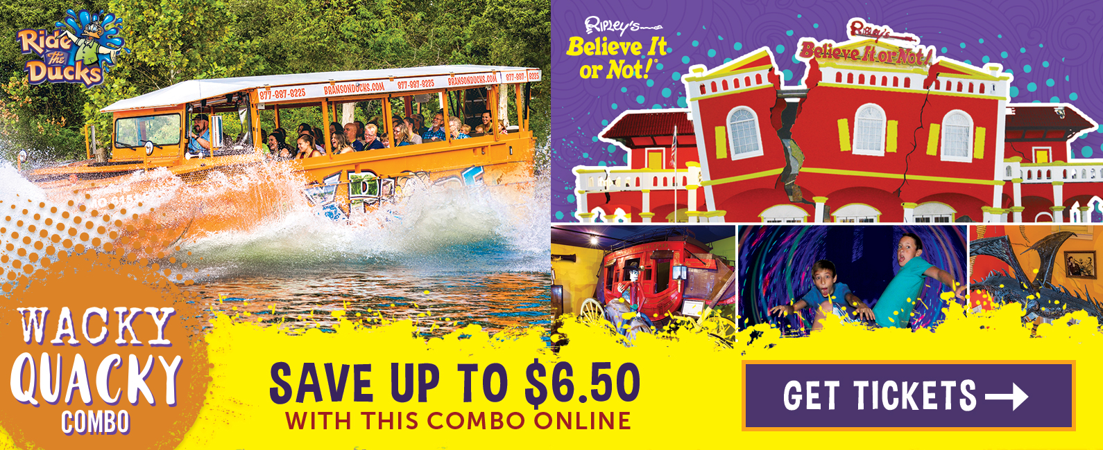 $6.50 off adult tickets