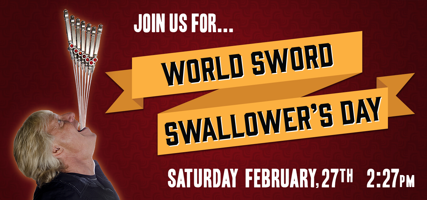 World Sword Swallower's Day