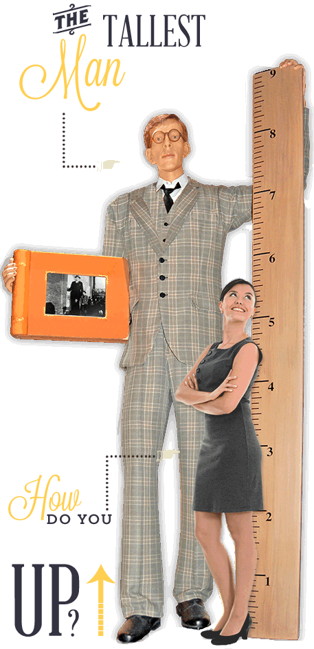 Grand Prairie Ripley's Believe It or Not World's Tallest Man