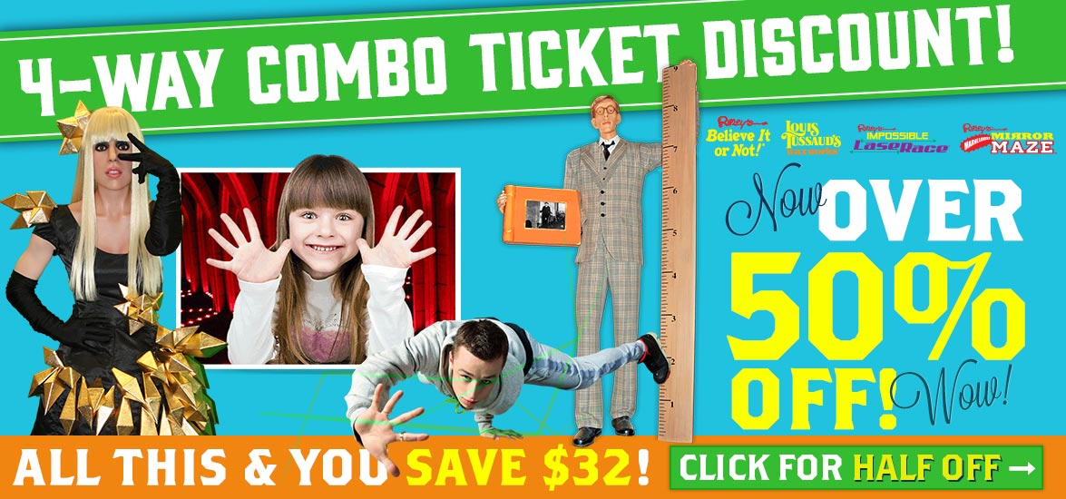 grand prairie combo ticket discount