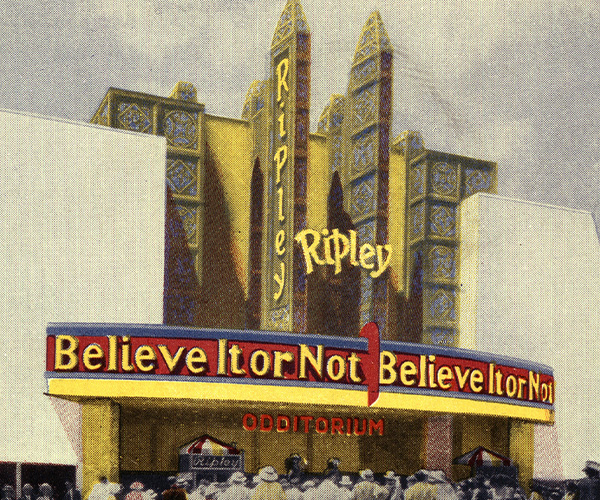 First Ripley's Believe It or Not! Odditorium image