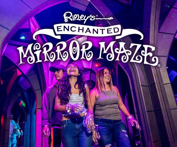 Ripley's Enchanted Mirror Maze Image