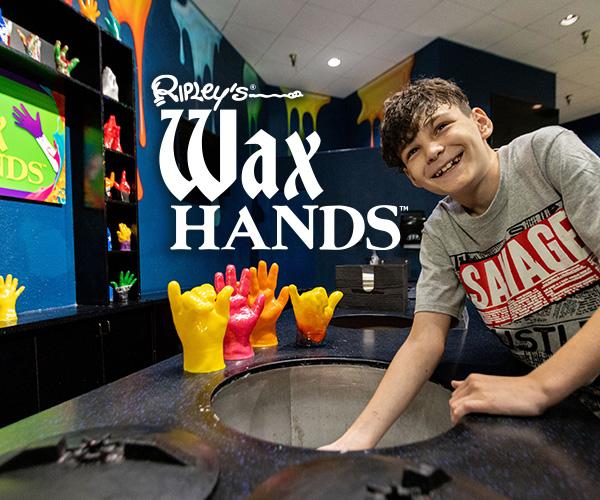 Ripley's Wax Hands Image