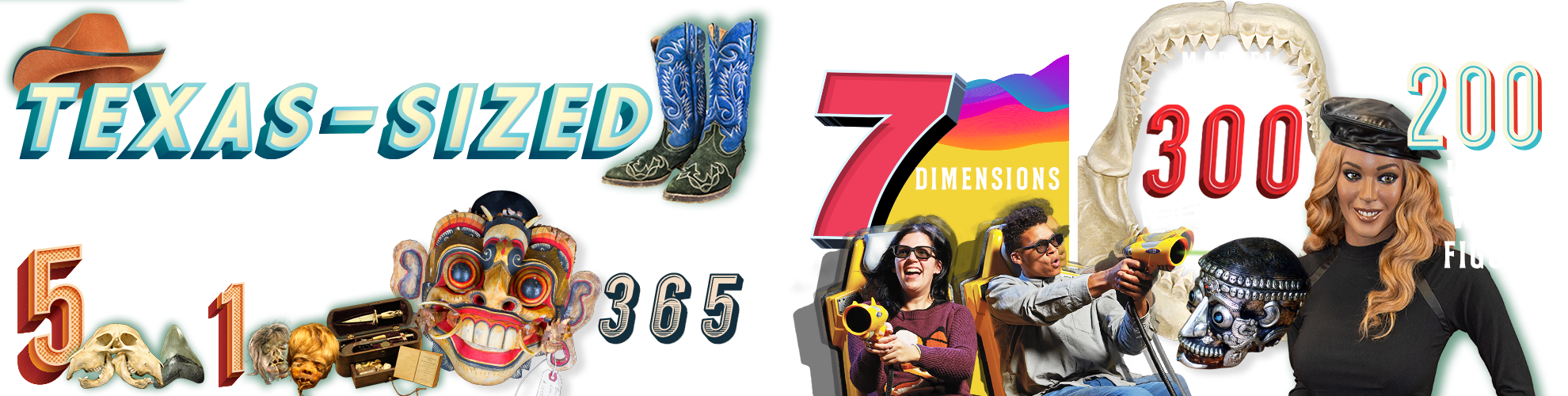 Grand Prairie Ripley's Attractions Infographic