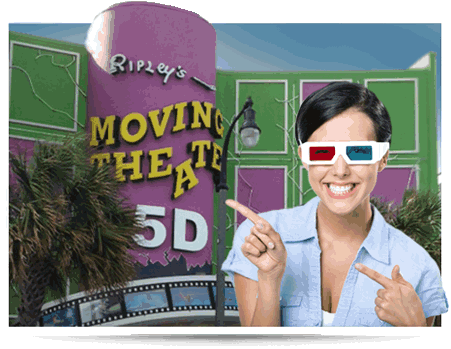 Myrtle Beach Ripley's 5D Moving Theater
