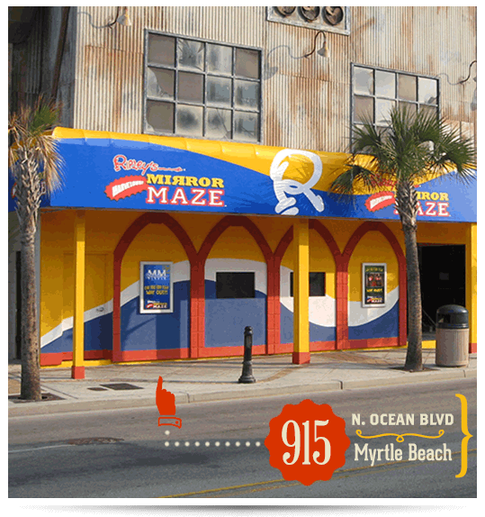 Ripley S Mirror Maze Believe It Or Not Myrtle Beach Sc