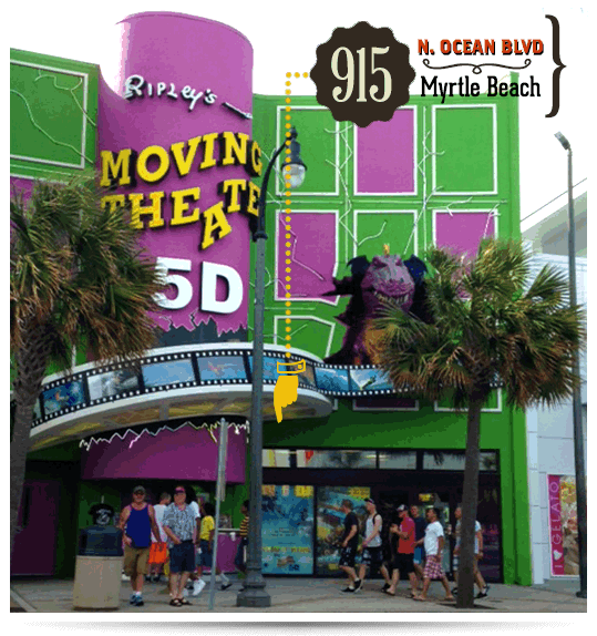 Myrtle Beach Ripley S Moving Theater Before After