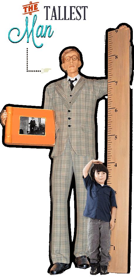Myrtle Beach Ripley's Believe It or Not Tallest Man