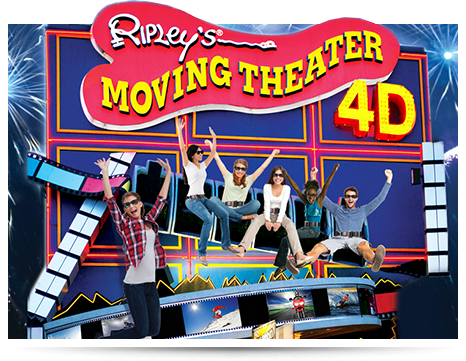 Niagara Falls Ripley's Moving Theater 4D