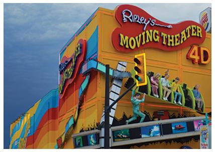 Niagara Falls Ripley's Moving Theater 4D