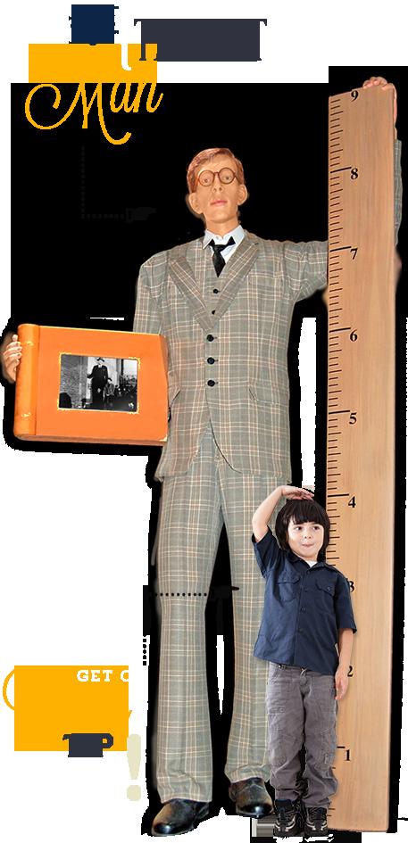 Ocean City Ripley's Believe It or Not Tallest Man