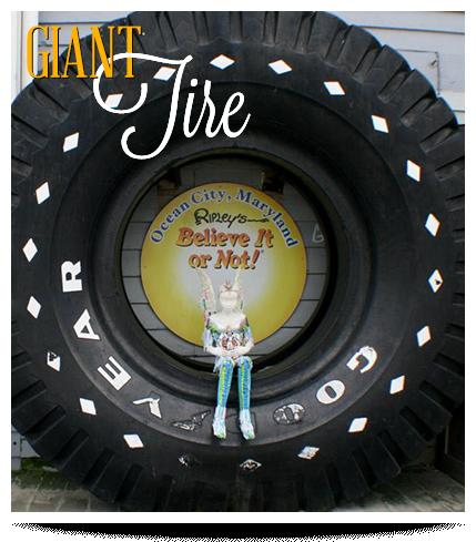 Ocean City Ripley's Believe It or Not Giant Tire