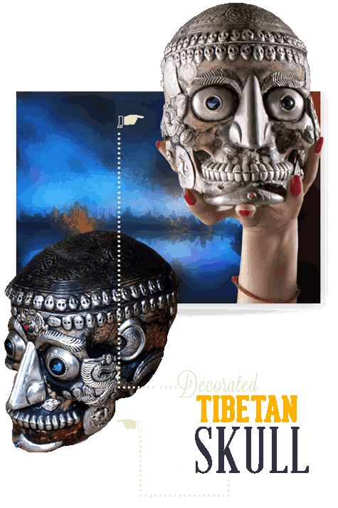 Orlando Ripley's Believe It or Not Tibetan Skull