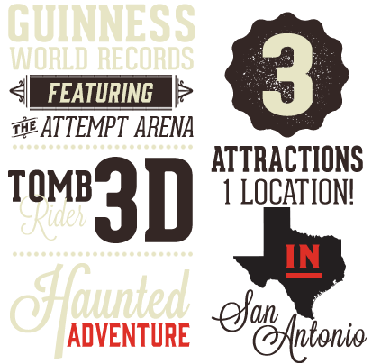 San Antonio Guiness World Records Worlds by the numbers
