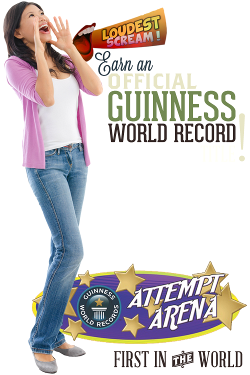 San Antonio Guiness World Records Worlds loudest scream