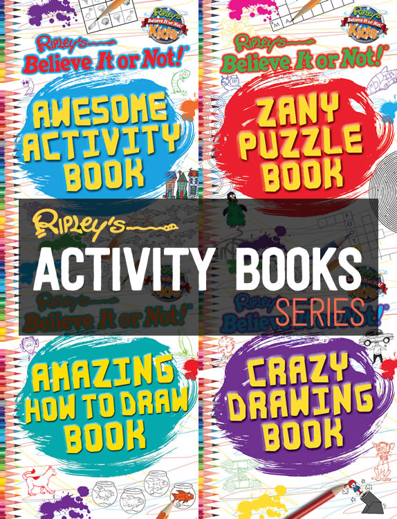 Ripley's Activity Books Series