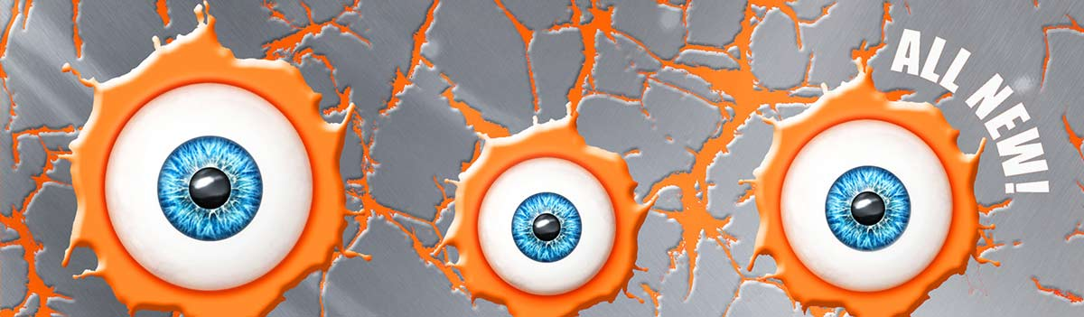 Eye Popping Oddities Book SLIVER