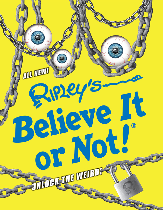 Ripley's Eye-Popping Oddities Book Cover