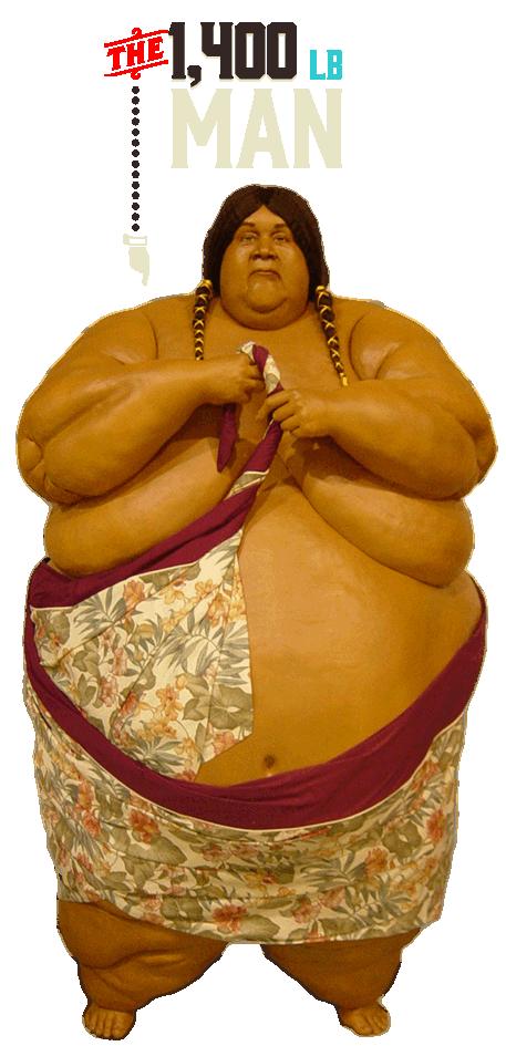 San Antonio Ripley's Believe It or Not 1400 lb Man