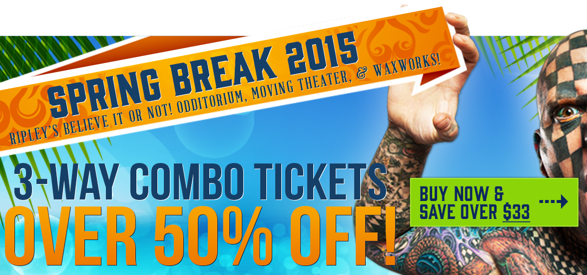 Spring Break 50% off