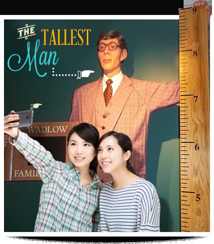 San Francisco Ripley's Believe It or Not Tallest Man