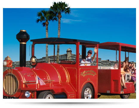 St. Augustine Red Train Tours