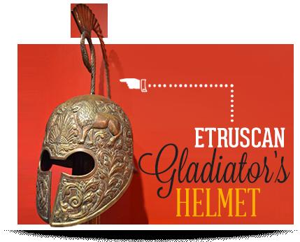 St. Augustine Ripley's Believe It or Not Gladiator Helmet