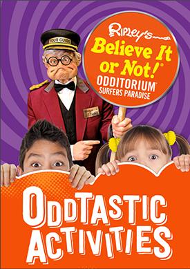 Oddtastic Activities Packet