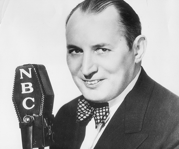 Image of Ripley signed with NBC for a 14-year radio run. Believe It or Not!, Robert Ripley was the first to broadcast underground and even underwater!