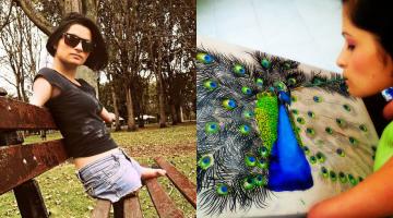 Zuly Sanguino, Limbless Artist
