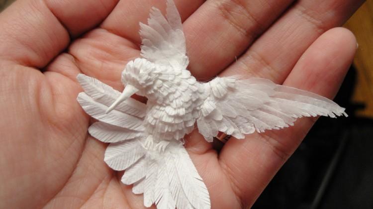Cheong-ah Hwang paper sculptures