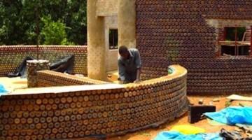 Nigeria bottle house