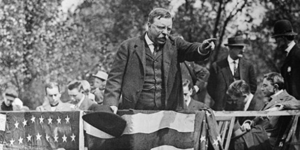 an analysis of theodore roosevelts speeches Theodore roosevelt's inaugural address posted on june 29, 2010 by yan theodore roosevelt made his inaugural address after his second term of his presidency.