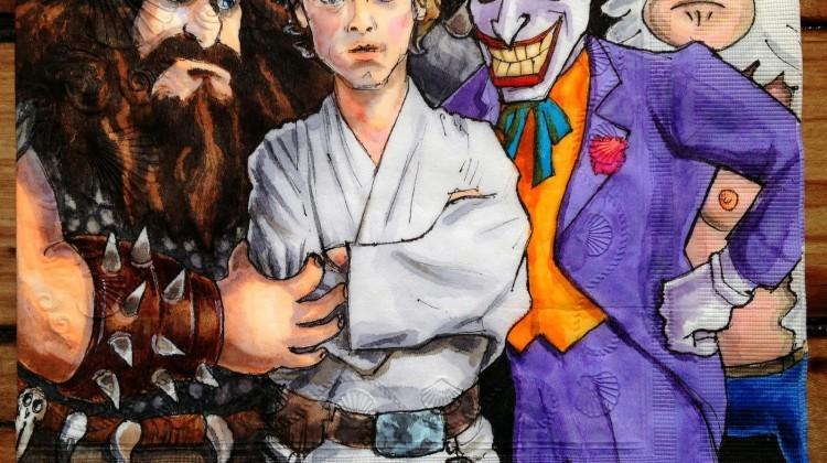 Alvin, Luke, Joker and Skips (Voices Courtesy of Mark Hamill)
