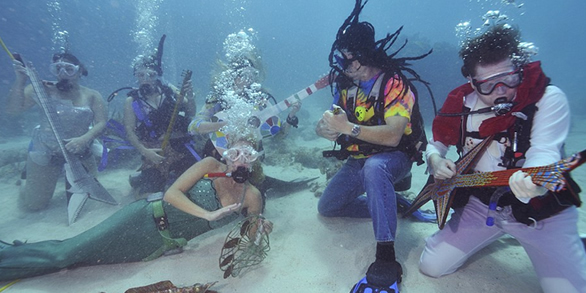 underwater performers