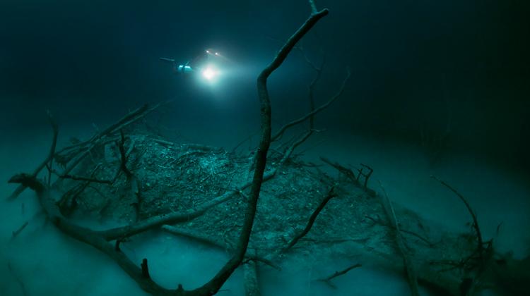 Anatoly Beloshchin Underwater River