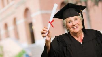 graduating grandma