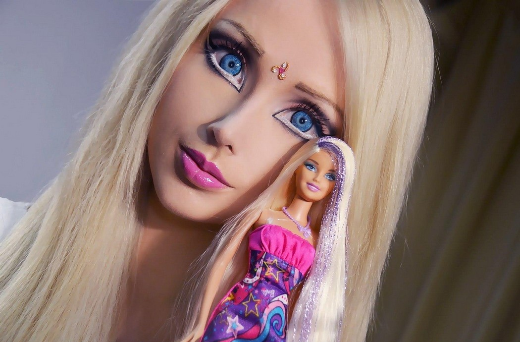 barbie in real