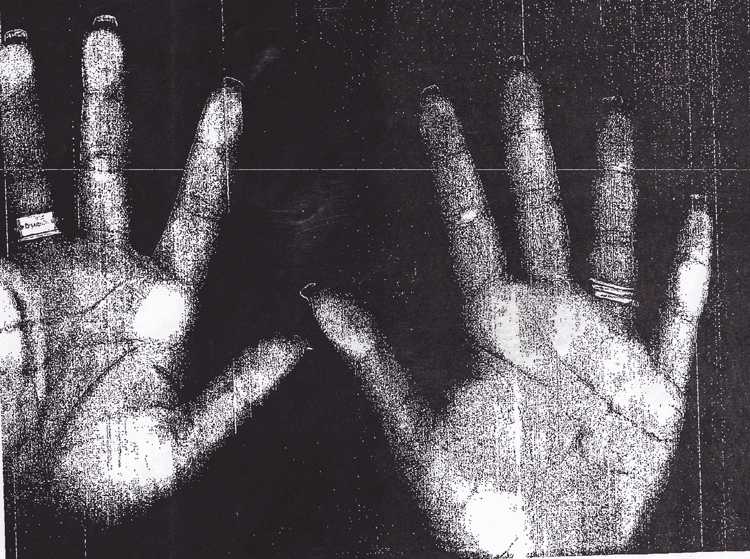 Faxed Hands for Fertility Statues